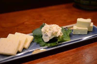 [画像がありません]酒粕チーズ盛合せ
