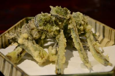 [画像がありません]山菜天ぷら