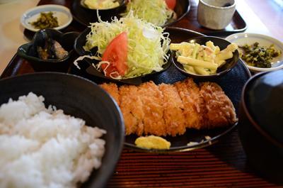 [画像がありません]鹿児島黒豚のミルカツ定食