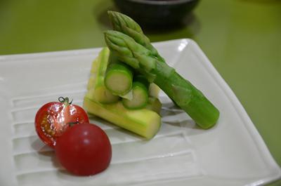 [画像がありません]アスパラ温サラダ