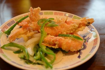 [画像がありません]海老塩胡椒炒め