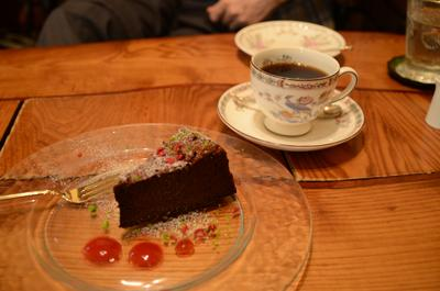 [画像がありません]ガトーショコラとブレンドコーヒー(ブルグ)