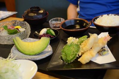 [画像がありません]天ぷらとお刺身御膳
