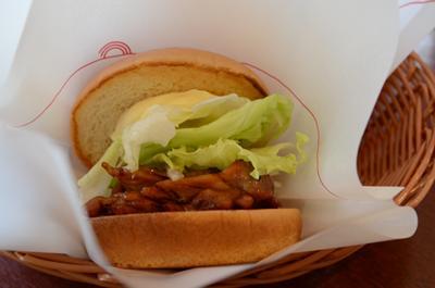 [画像がありません]テリヤキチキンバーガー