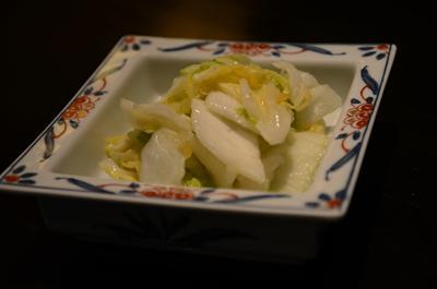 [画像がありません]白菜漬