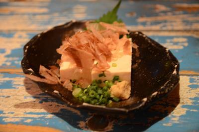 [画像がありません]島豆腐の冷奴