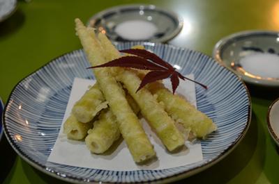 [画像がありません]四方竹天ぷら
