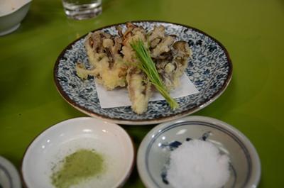 [画像がありません]まい茸天ぷら