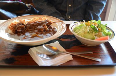 [画像がありません]串カツカレー定食