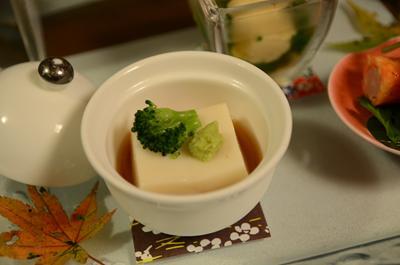 [画像がありません]百合根梅豆腐