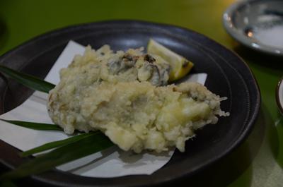 [画像がありません]兵庫県産播磨灘産蒸しがき天ぷら