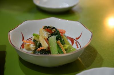 [画像がありません]小松菜ごま和え