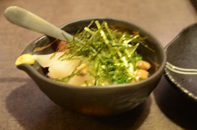 [画像がありません]海鮮納豆豆腐