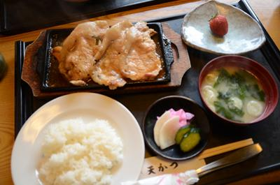 [画像がありません]生姜焼セット