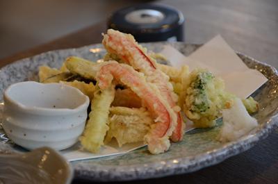 [画像がありません]季節野菜の天ぷら盛り(小)