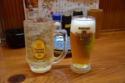 [画像がありません]ビール&ジンジャーエール
