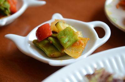 [画像がありません]野菜のカレー炒め