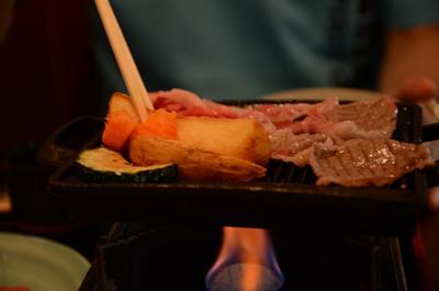 [画像がありません]飛騨牛焼き肉定食の飛騨牛其の二