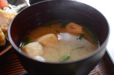[画像がありません]お味噌汁(とり南蛮揚げ定食)