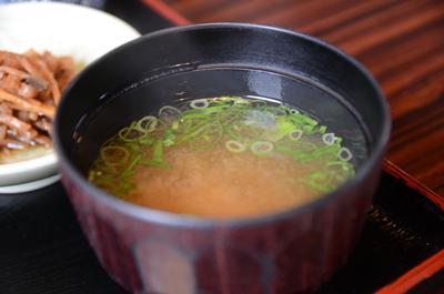 [画像がありません]お味噌汁