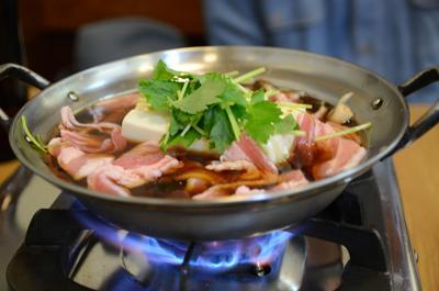 [画像がありません]肉豆腐鍋