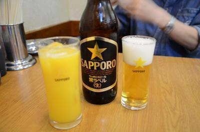 [画像がありません]ビール&オレンジジュース