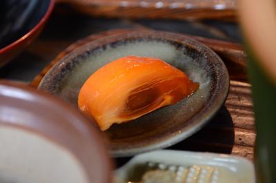 [画像がありません]つけとろのデザート「柿」