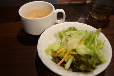 [画像がありません]サラダ&スープ