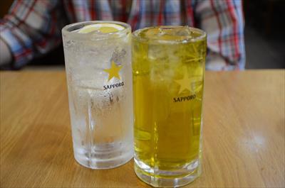 [画像がありません]酎ハイ&緑茶