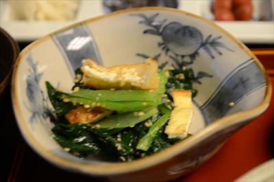 [画像がありません]小松菜+揚げ