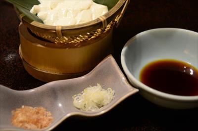 [画像がありません]手繰り豆腐