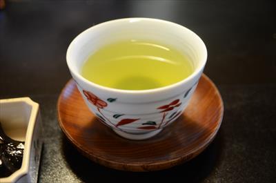 [画像がありません]朝のお茶