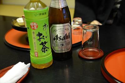 [画像がありません]ビール&お茶