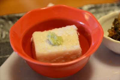 [画像がありません]蓮根豆腐