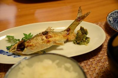 [画像がありません]鮎の塩焼き