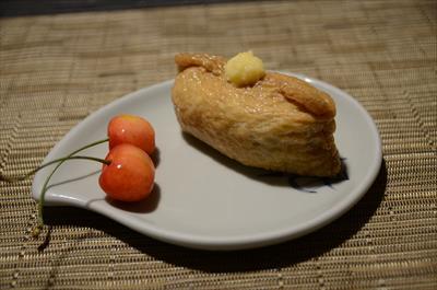 [画像がありません]蕎麦稲荷+さくらんぼ