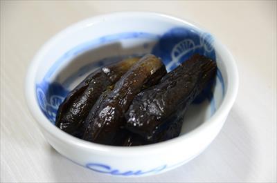 [画像がありません]飛騨茄子の煮物