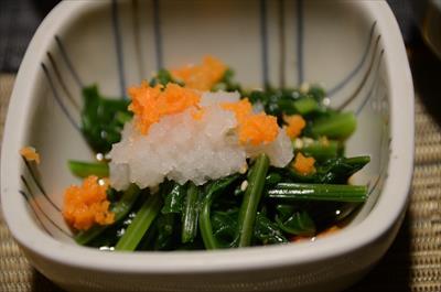 [画像がありません]小松菜お浸し