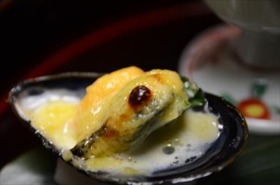 [画像がありません]ムール貝黄身焼