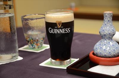 [画像がありません]ギネスビール&燗酒
