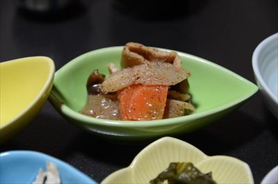[画像がありません]くり茸の煮物