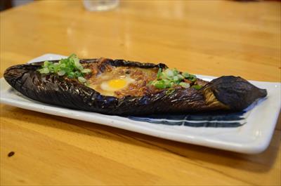 [画像がありません]飛騨の焼茄子味噌詰め