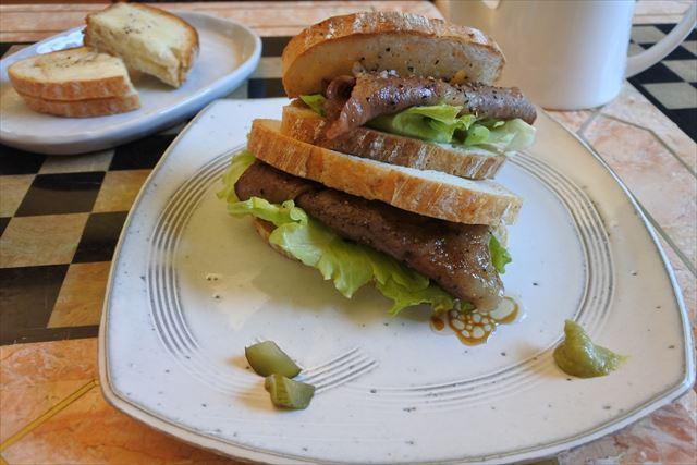 [画像がありません]和牛リブロースのサンドイッチ