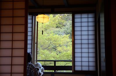 [画像がありません]窓から見える風景
