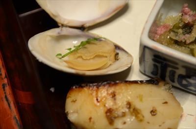 [画像がありません]焼き蛤山椒風味