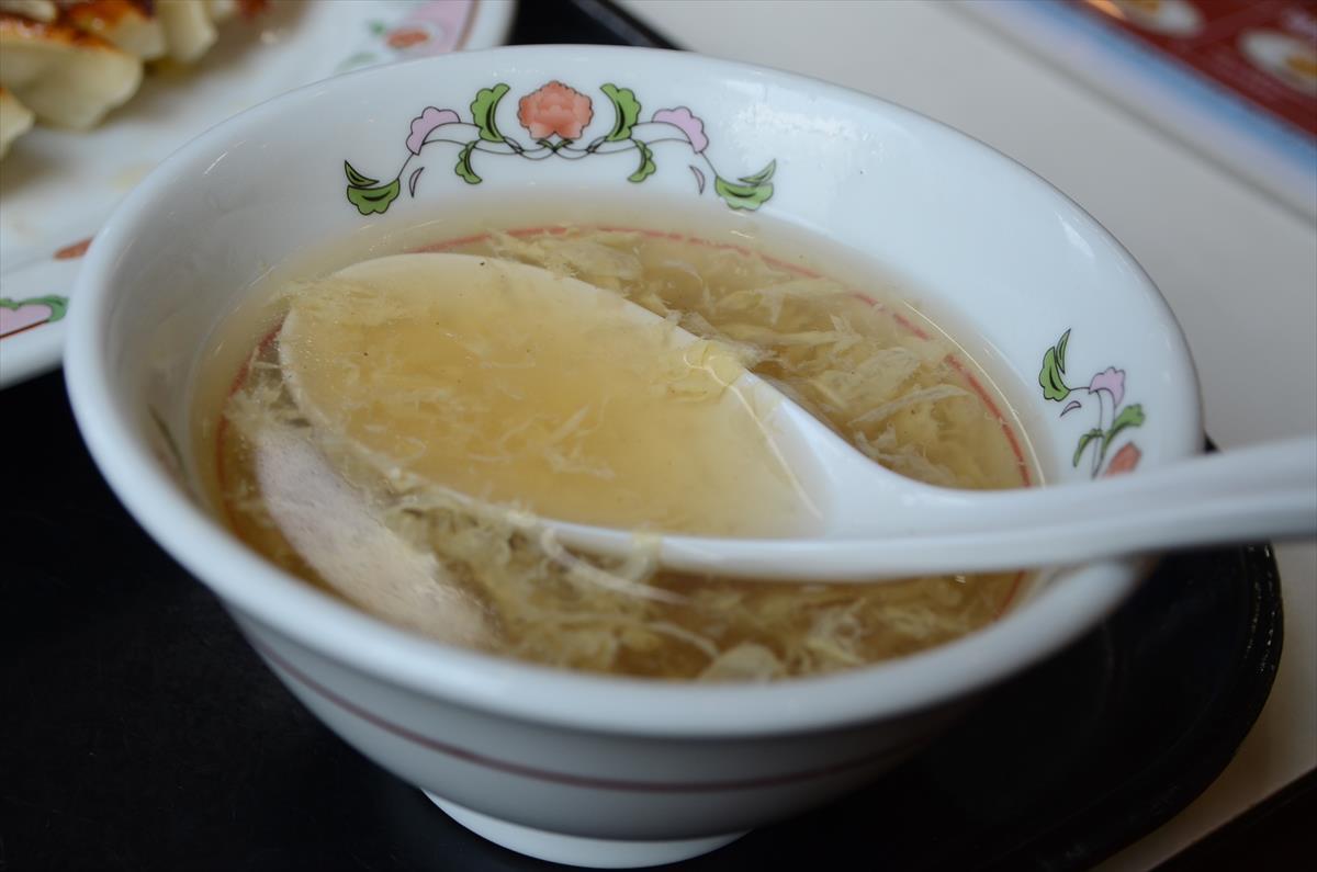 [画像がありません]卵スープ