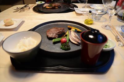 [画像がありません]上州牛のステーキ