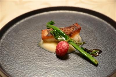 [画像がありません]北海道から届いた青ソイのポワレ 根セロリのソース