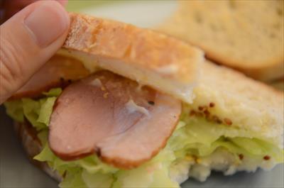 [画像がありません]合鴨のサンドイッチ